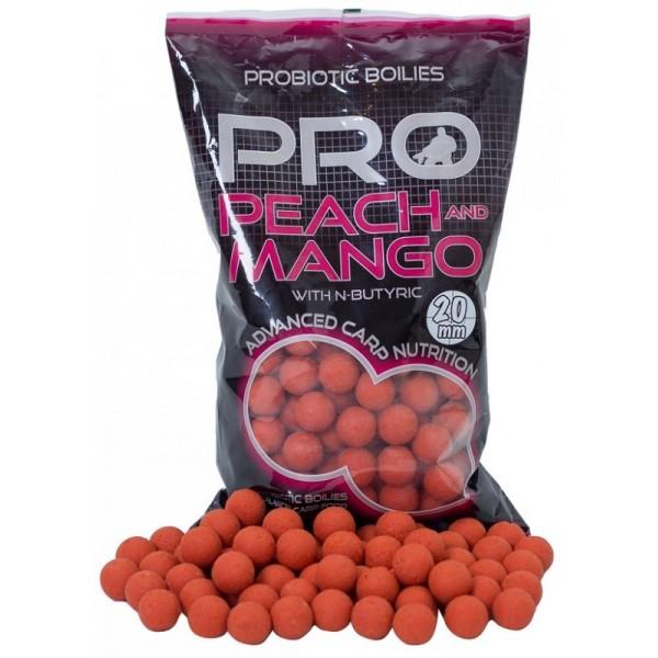 StarBaits boilies Probiotic Peach Mango 1kg