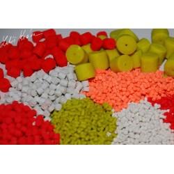 LK BAITS FLUORO POP-UP Hook Pellets PINEAPPLE/N-BUTYRIC 150ml