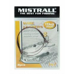 Mistrall Wire Leader oceľové lanko 11kg