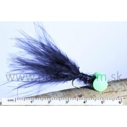 RVFLY Mucha Booby Nymph (Bobina) čierno-zelená 50mm