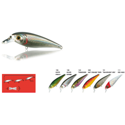 Nomura Jerk Evolution 7,8cm 10,4g Redhead