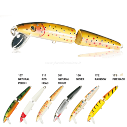 Nomura Jointed Minnow 10,5cm 12,5g Natural Perch