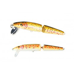 Nomura Jointed Minnow 4,5cm, 3,1g Natural Trout