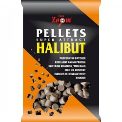 Carpzoom Feeding Halibut pelety 800g
