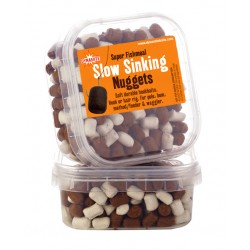 Dynamite Baits Super Fishmeal Slow Sinking Nuggets White/Brown 40g 6mm