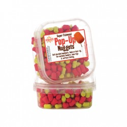 Dynamite Baits Super Fishmeal Pop-Up Nuggets Yellow/Red 40 g 6mm
