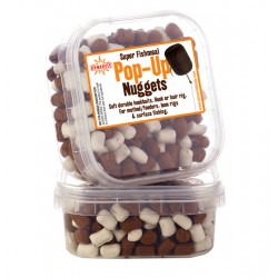 Dynamite Baits Super Fishmeal Pop-Up Nuggets White/Brown 40 g 6mm