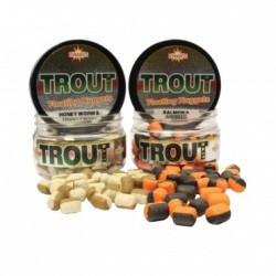 Dynamite Baits Two Tone Floating Nuggets Honey Worm & Trout Pellet 60g 6mm