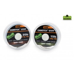FOX EDGES Camotex Dark Stiff 25lb, 20m