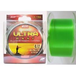 Asso Ultra Cast 150 m fluo zelená
