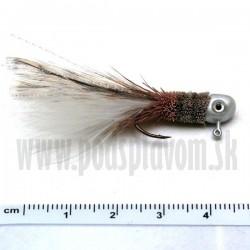 RVFLY Jig Muškársky s očami - natur/1,5g 5cm 1ks