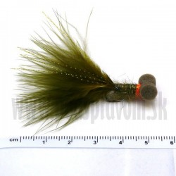 RVFLY Mucha Booby Nymph (Bobina) olive-green 50mm
