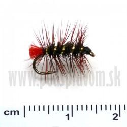 RVFLY Mucha Palmer čierno-červená 15mm