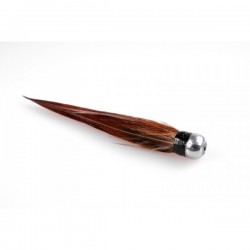 RedBASS Hauserovo pero 3ks - Rezaná hnedá