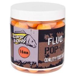 CARPONLY FLUO POP UP Boilies Orange (oranžová) 100g