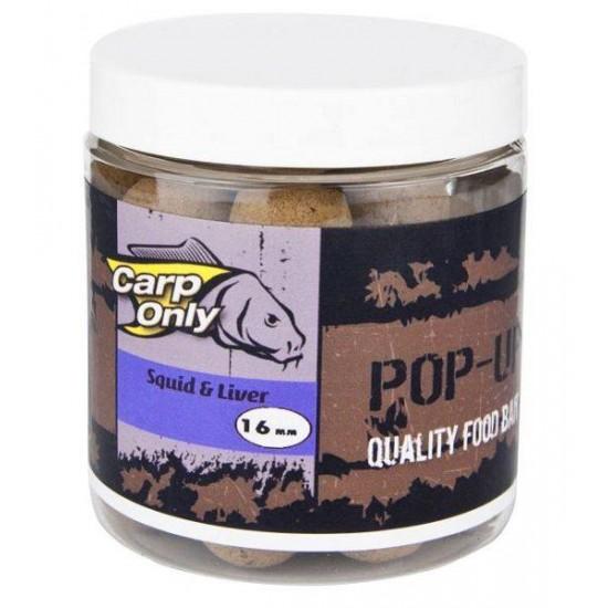CARPONLY POP UP Squid Liver (kalamár a pečeň) 100g