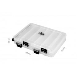 Krabica Delphin TBX Duo 210-12P Clip 210x165x40mm