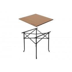 Skladací stolík Delphin CAMPSTA | 60x60x60cm