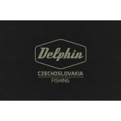Tričko Delphin Czechoslovakia čierna / XL
