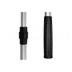 Podberák Delphin - kovový stred, gum.sieťka / 2 diely 70x70/250cm