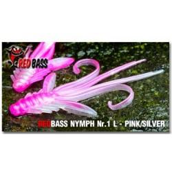 REDBASS Nymfa Pink/Silver