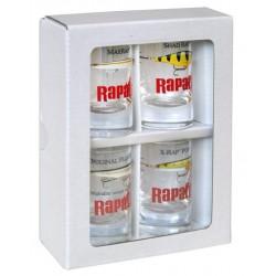 Rapala Shot Glass 4ks
