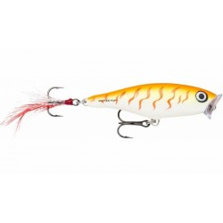 Rapala Skitter Pop OTU (Orange Tiger UV)