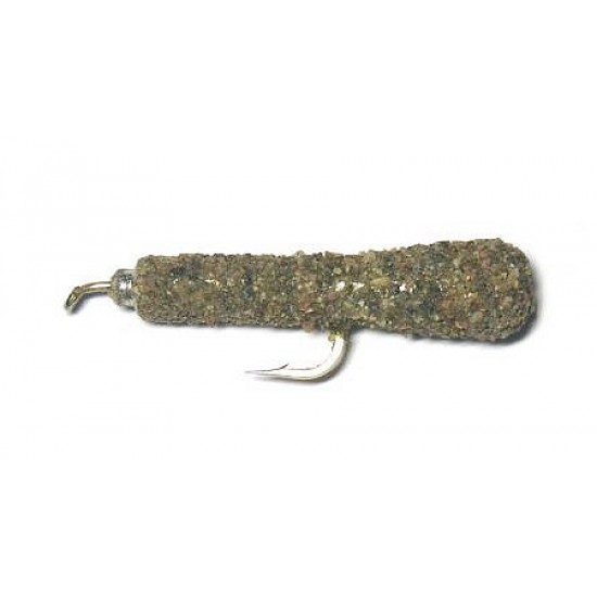 Schránková larva potočníka- piesková úprava